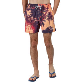 Regatta Mawson Swim Shorts Men, sunset photographic